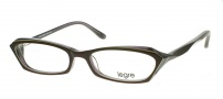 Legre LE100 Eyeglasses Eyeglasses - 614 Dark Chocolate / Lime Stripe