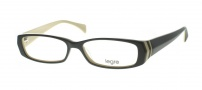 Legre LE095 Eyeglasses Eyeglasses - 613 Black / Brown Cream