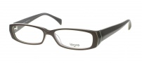 Legre LE095 Eyeglasses Eyeglasses - 614 Dark Chocolate / Lime Stripe