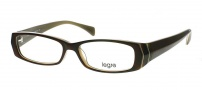 Legre LE095 Eyeglasses Eyeglasses - 617 Dark Tortoise / Cream Stripe