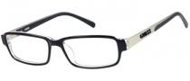 Guess GU 1741 Eyeglasses Eyeglasses - BKCRY: Black / Crystal