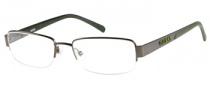 Guess GU 1742 Eyeglasses Eyeglasses - GUNGRN: Dark Gunmetal