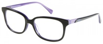 Guess GU 2293 Eyeglasses Eyeglasses - BKPUR: Black Purple