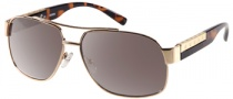 Guess GU 6693 Sunglasses Sunglasses - TO-34: Shiny Gold