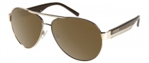 Guess GU 6695 Sunglasses Sunglasses - GLD-1F: Shiny Gold