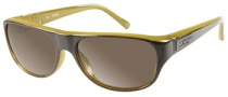 Guess GU 6697 Sunglasses Sunglasses - OL-2F: Khaki Amber