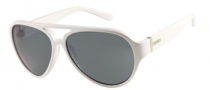 Guess GU 6730 Sunglasses  Sunglasses - WHT-3F: White Silver