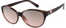 Guess GU 7159 Sunglasses Sunglasses - BRN-62: Dark Brown
