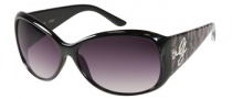 Guess GU 7165 Sunglasses Sunglasses - BKBRN-35: Black Brown