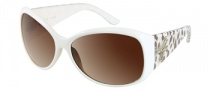 Guess GU 7165 Sunglasses Sunglasses - WHT-34: White Crystal