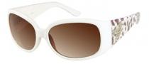 Guess GU 7167 Sunglasses Sunglasses - WHT-34: White Crystal
