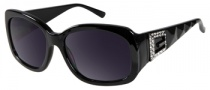Guess GU 7180 Sunglasses Sunglasses - BLK-35: Black