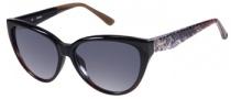 Guess GU 7191 Sunglasses Sunglasses - BLK-35: Black Brown