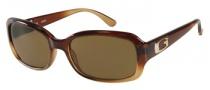 Guess GU 7203 Sunglasses Sunglasses - BRN-1: Brown Crystal