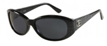 Guess GU 7220 Sunglasses Sunglasses - BLK-3: Black