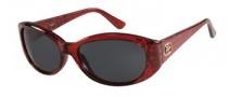 Guess GU 7220 Sunglasses Sunglasses - BU-3: Burgundy Crystal