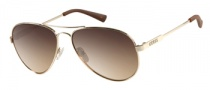 Guess GU 7228 Sunglasses Sunglasses - GLD-34: Shiny Gold