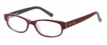 Bongo B Doll Eyeglasses Eyeglasses - BU Burgundy