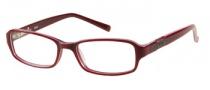 Bongo B Feisty Eyeglasses Eyeglasses - BU: Burgundy