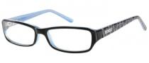 Bongo B Lacey Eyeglasses Eyeglasses - BLK: Black Blue
