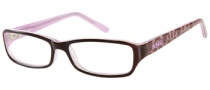 Bongo B Lacey Eyeglasses Eyeglasses - BRN: Brown Crystal