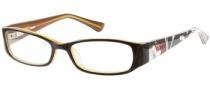 Bongo B Layla Eyeglasses Eyeglasses - BRN: Brown