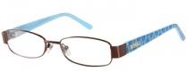 Bongo B Lila Eyeglasses Eyeglasses - BRN: Brown