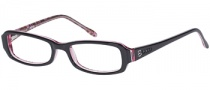 Bongo B Lipgloss Eyeglasses Eyeglasses - BLK: Black