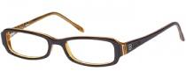 Bongo B Lipgloss Eyeglasses Eyeglasses - BRN: Brown