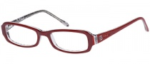 Bongo B Lipgloss Eyeglasses Eyeglasses - BU: Burgundy