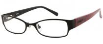 Bongo B Melissa Eyeglasses Eyeglasses - BLK: Satin Black