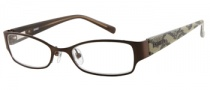 Bongo B Melissa Eyeglasses Eyeglasses - BRN: Satin Dark Brown