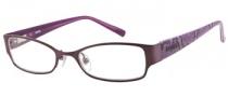 Bongo B Melissa Eyeglasses Eyeglasses - PUR: Brushed Plum