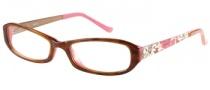 Bongo B Mila  Eyeglasses  Eyeglasses - BRNHRN Brown Horn Pink