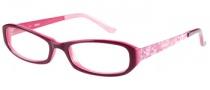 Bongo B Mila  Eyeglasses  Eyeglasses - BUPK Burgindy Pink