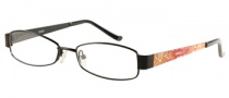 Bongo B Miley Eyeglasses Eyeglasses - BLK: Satin Black