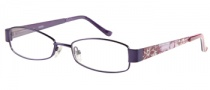 Bongo B Miley Eyeglasses Eyeglasses - PUR: Satin Purple