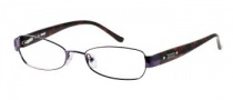 Bongo B Precious Eyeglasses Eyeglasses - PUR: Purple