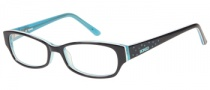 Bongo B Tasha Eyeglasses  Eyeglasses - BLK: Black Teal