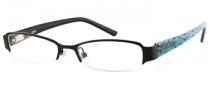 Bongo B Val Eyeglasses Eyeglasses - BLK: Black