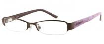 Bongo B Val Eyeglasses Eyeglasses - BRN: Brown