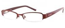 Bongo B Val Eyeglasses Eyeglasses - BU: Burgundy