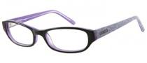 Bongo B Vicky Eyeglasses  Eyeglasses - BLK: Black Crystal Purple