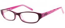 Bongo B Vicky Eyeglasses  Eyeglasses - BU: Burgundy Crystal Pink