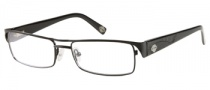 Harley Davidson HD 413 Eyeglasses Eyeglasses - BLK: Shiny Black