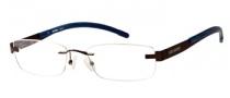 Harley Davidson HD 417 Eyeglasses Eyeglasses - BRN: Brown