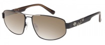 Harley Davidson HDX 840 Sunglasses Sunglasses - BLK-1F: Black Silver