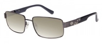 Harley Davidson HDX 841 Sunglasses Sunglasses - GUN-3F: Gunmetal