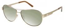 Harley Davidson HDX 843 Sunglasses Sunglasses - COG-2F: Cognac  (green)