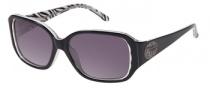Harley Davidson HDX 846 Sunglasses Sunglasses - BLK-3: Black Zebra